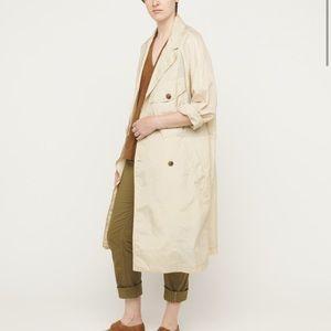 billy reid opaque trench coat M
